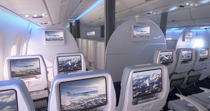 Fińska estetyka w nowym Airbusie A350